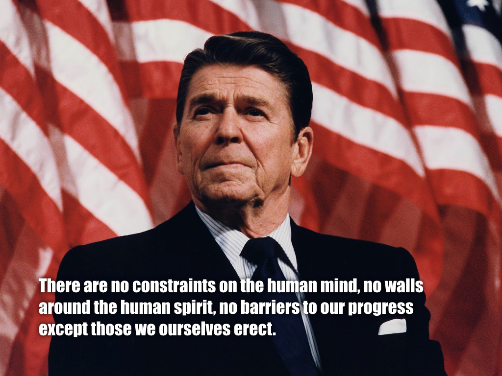 Reagan Quote slide 17